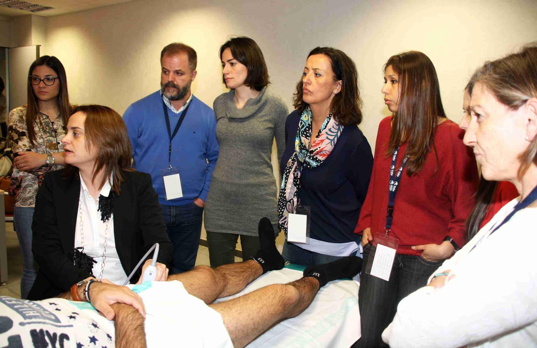 Más de 60 médicos rehabilitadores de Castilla-La Mancha se dan cita en el Hospital Mancha Centro en unas jornadas con 12 talleres prácticos 1