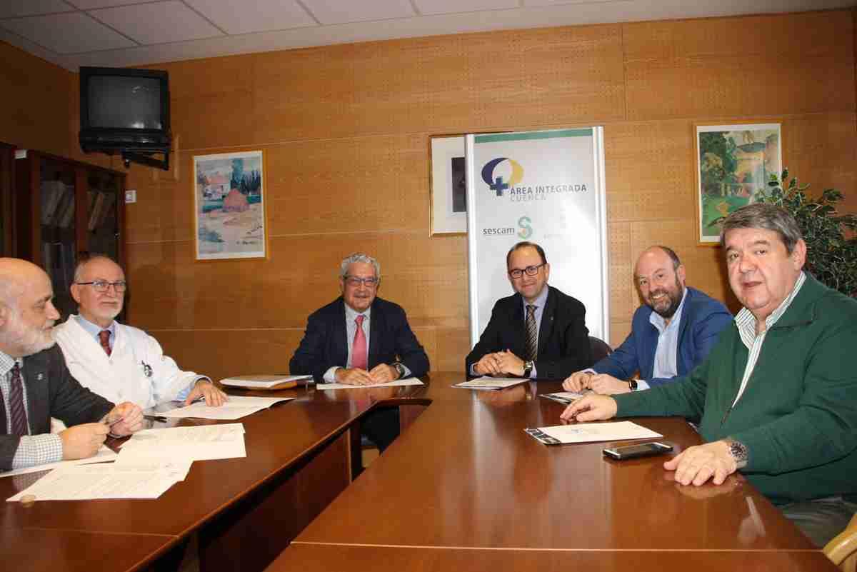 Reunión del Comité Ejecutivo de la Unidad Regional de Medicina Nuclear de Castilla-La Mancha en Cuenca 2