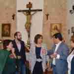 La consejera de Economía, Patricia Franco enaltece la celebración de la Semana Santa en la Ruta de la Pasión Calatrava 3