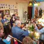Mayos a la Cruz y a la Virgen para conmemorar el inicio del mes de las flores 8