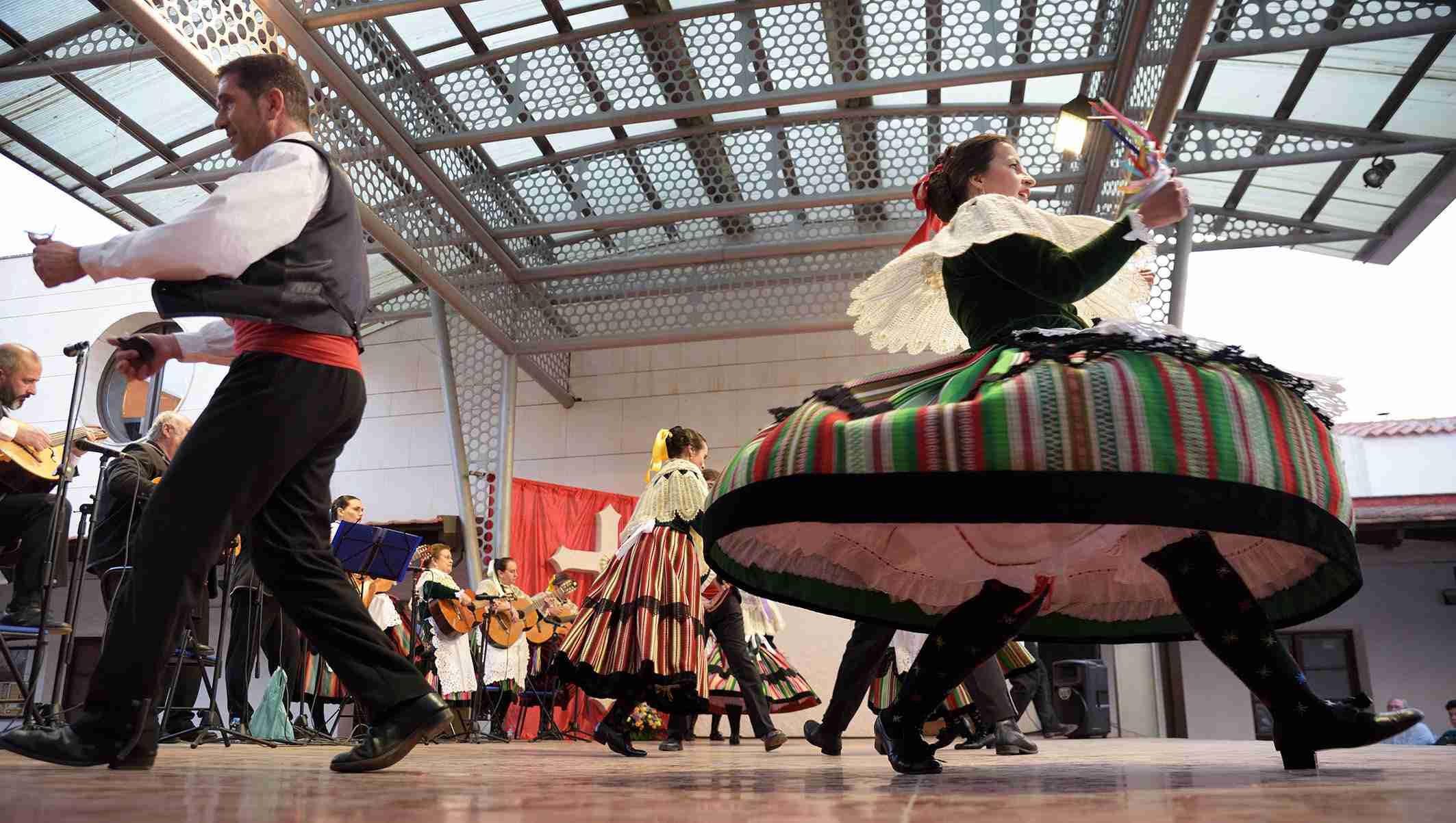 El Festival Folklórico de Mayos Manchegos de Argamasilla de Alba alcanza la vigésimo segunda edición 2