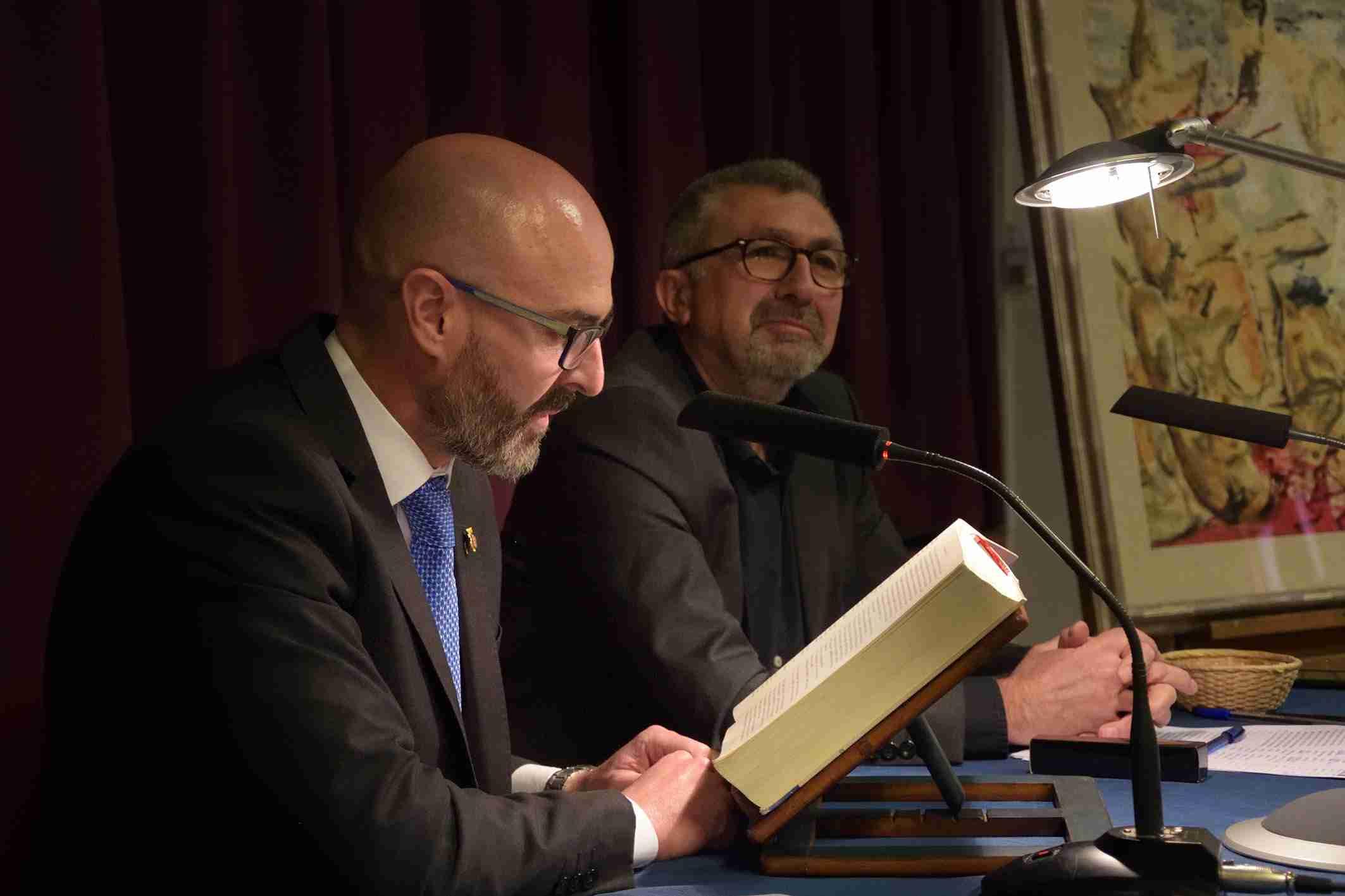 Ángel Felpeto participa en la Lectura Colectiva del Quijote de Argamasilla de Alba 2