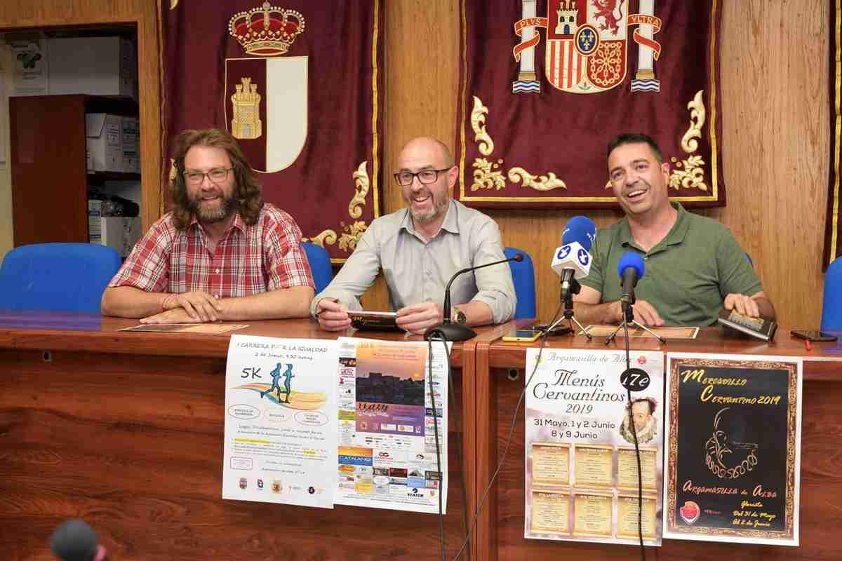 Mercadillo Cervantino, gastronomía y atletismo este fin de semana en Argamasilla de Alba 1