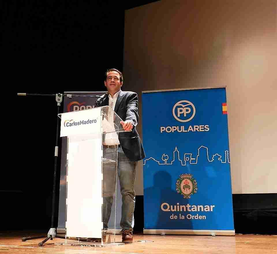 """El """"popular"""" Carlos Madero presenta su lista en Quintanar de la Orden 2"""