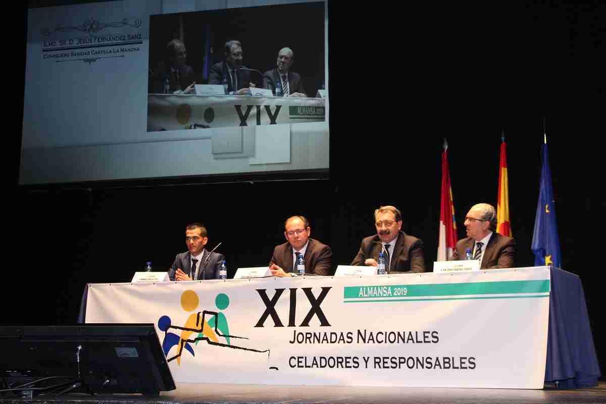 El Gobierno regional destaca la especialización de los celadores y la labor transversal que desarrollan en las organizaciones sanitarias 1