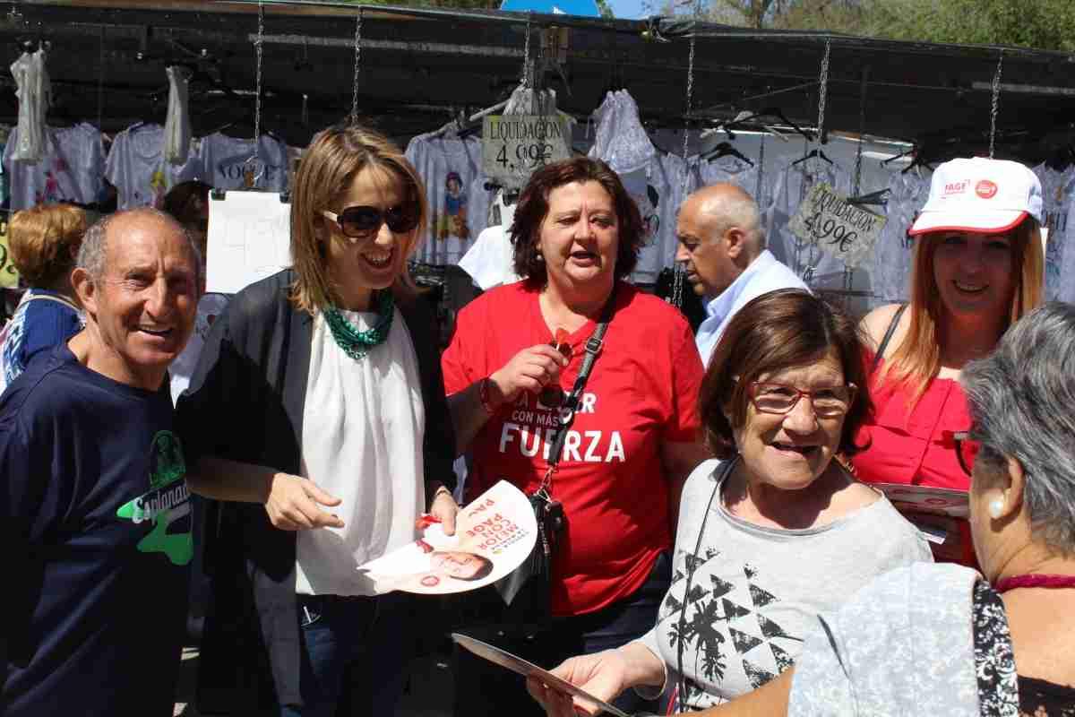 Cristina Maestre pide votar al PSOE en acto realizado en Alcázar de San Juan 2