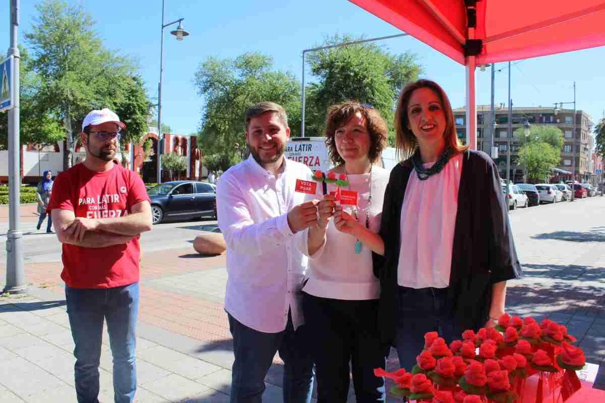 Cristina Maestre pide votar al PSOE en acto realizado en Alcázar de San Juan 1