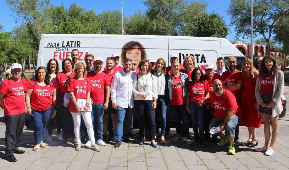 Cristina Maestre pide votar al PSOE en acto realizado en Alcázar de San Juan 3