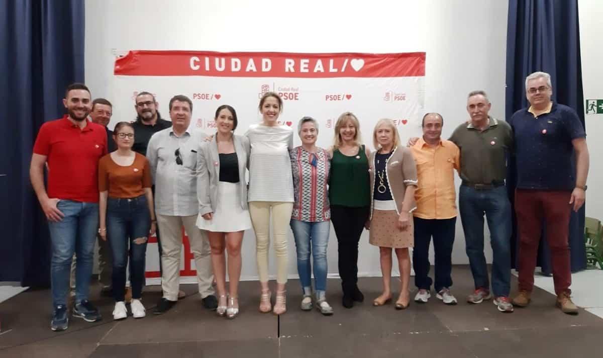 Cristina Maestre en acto público del PSOE celebrado en la localidad de Fernán Caballero 1