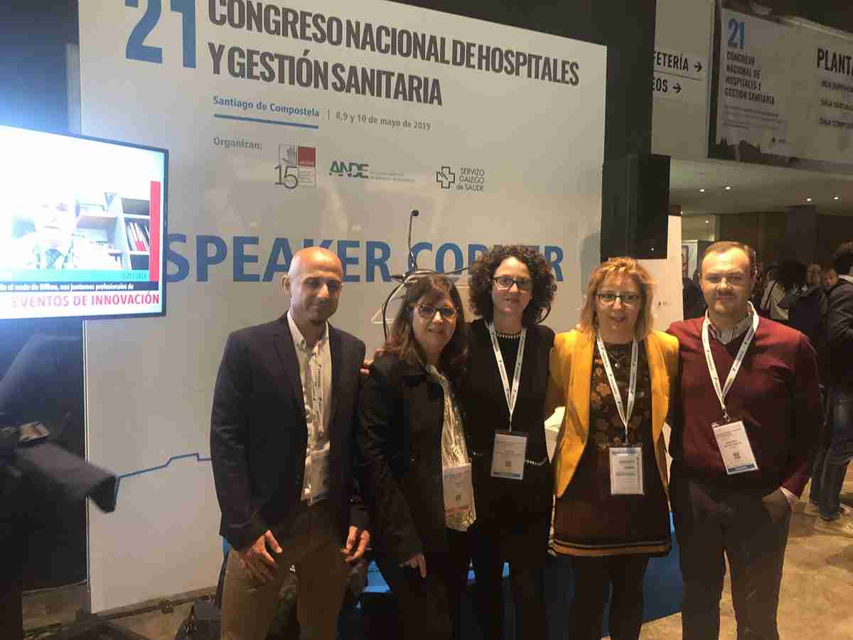 La Gerencia de Cuenca presentó el Programa de Voluntariado con alumnos de Trabajo Social en el 21 Congreso Nacional de Hospitales 1