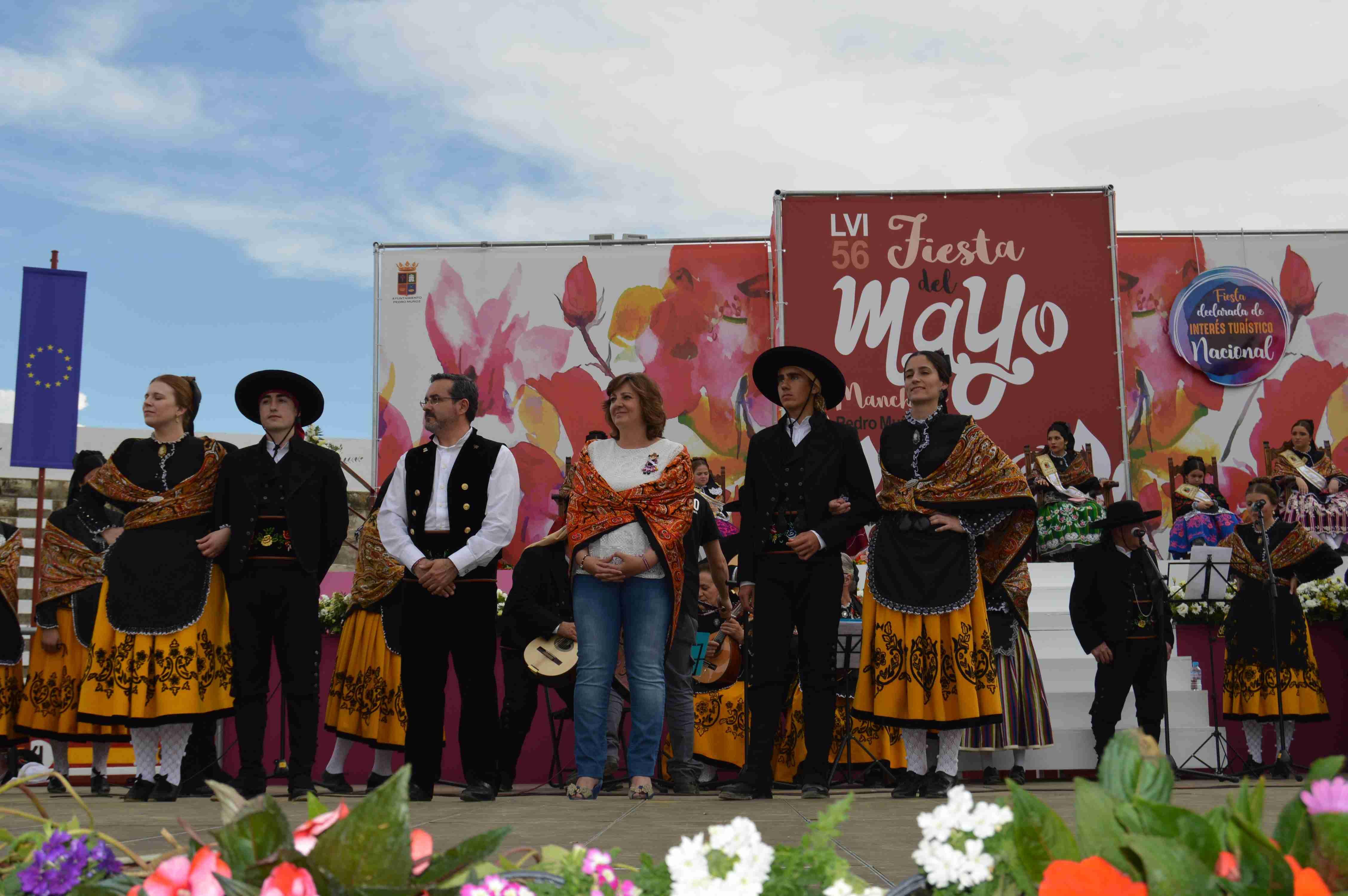La consejera de Economía celebra la primera edición del Mayo Manchego de Pedro Muñoz con la declaración de Fiesta de Interés Turístico Nacional 2