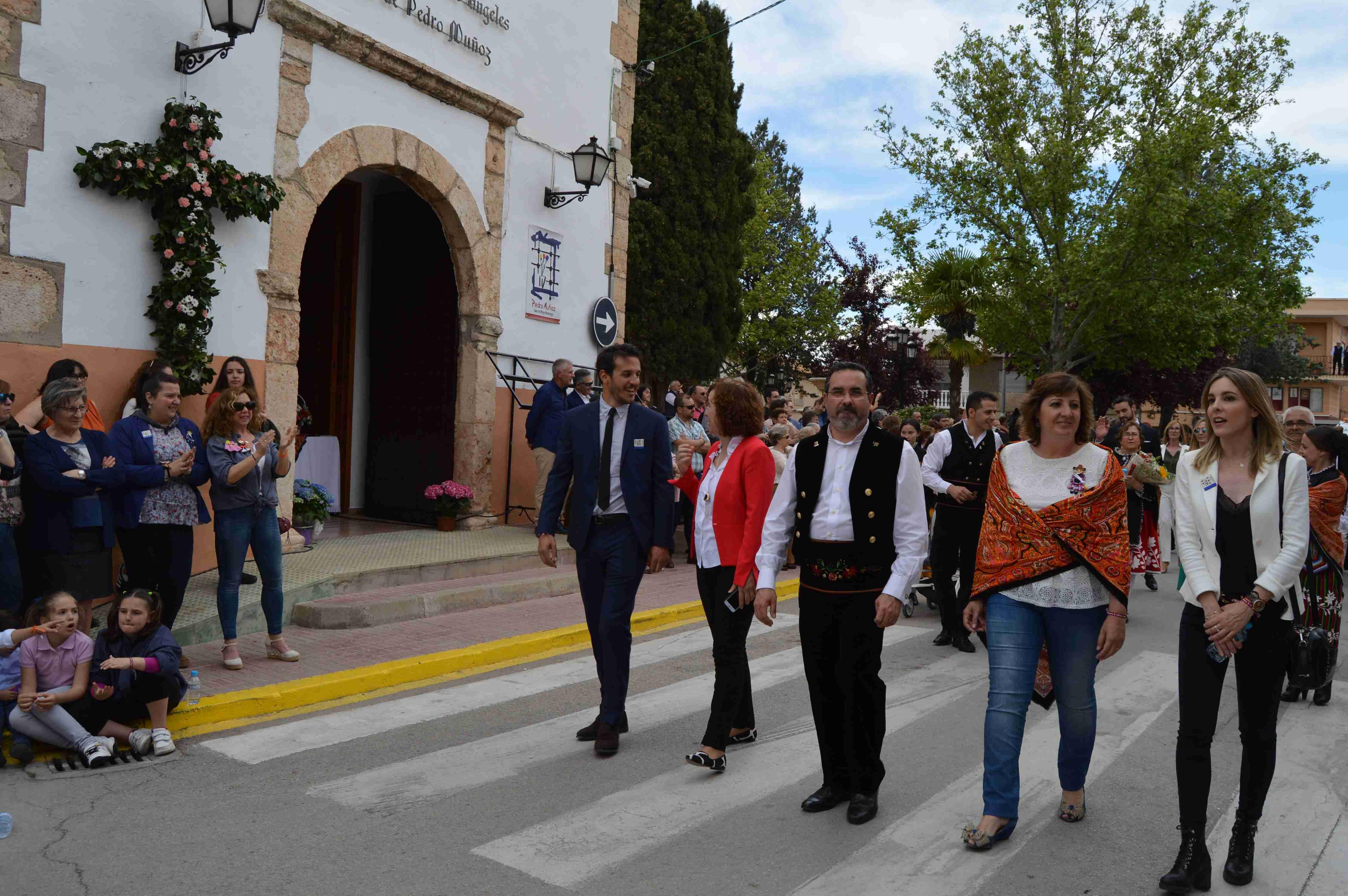 La consejera de Economía celebra la primera edición del Mayo Manchego de Pedro Muñoz con la declaración de Fiesta de Interés Turístico Nacional 1
