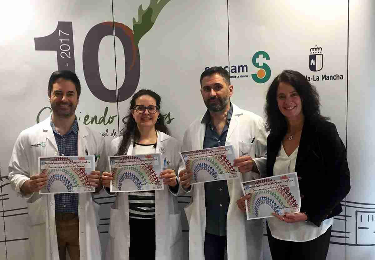 Reunión de profesionales en el Hospital General de Villarrobledo contra el acoso escolar 1