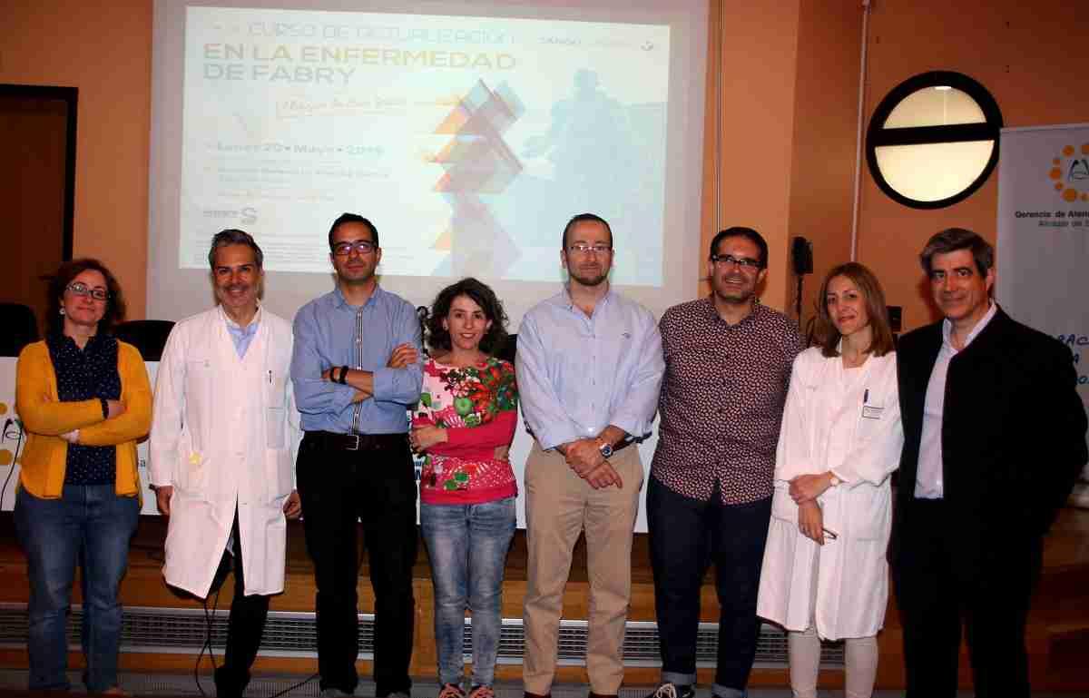 El Hospital Mancha Centro acoge un curso para mejorar la esperanza y calidad de vida de pacientes con enfermedad de Fabry 1