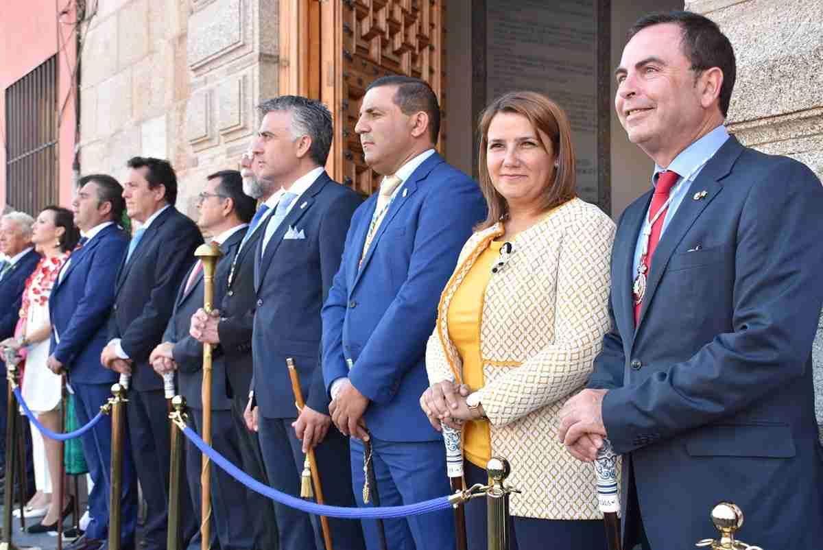 Agustina García Élez destacó el trabajo de las asociaciones vecinales para el desarrollo del desfile de Mondas 1
