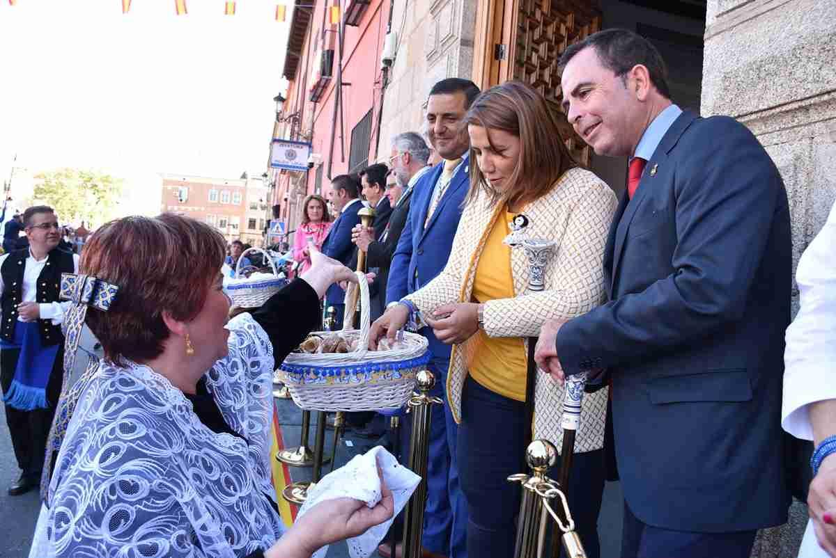 Agustina García Élez destacó el trabajo de las asociaciones vecinales para el desarrollo del desfile de Mondas 2