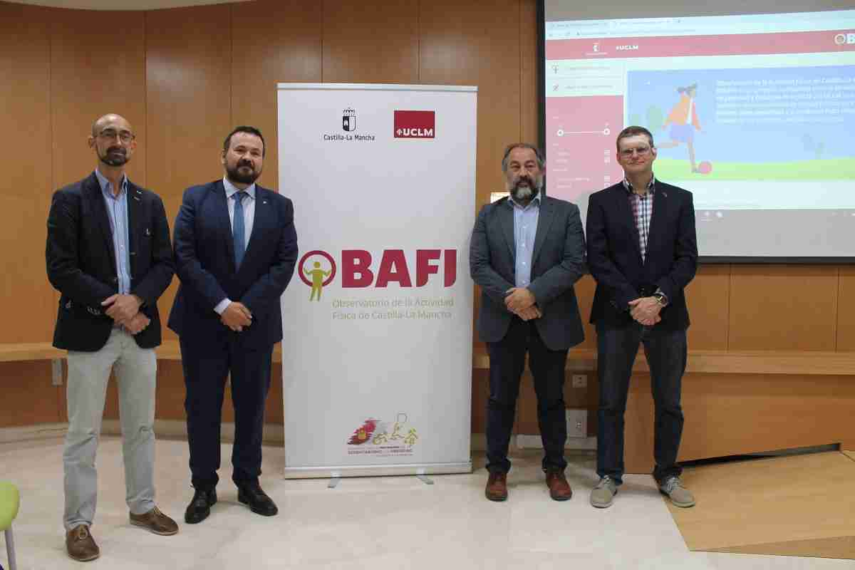 El Gobierno regional y la UCLM ponen en marcha el Observatorio de la Actividad Física de Castilla-La Mancha (OBAFI) 2