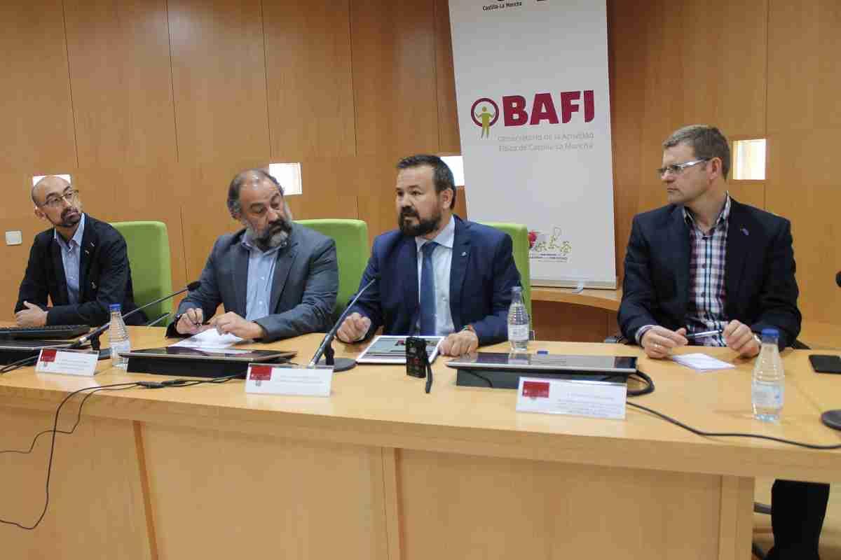 El Gobierno regional y la UCLM ponen en marcha el Observatorio de la Actividad Física de Castilla-La Mancha (OBAFI) 1