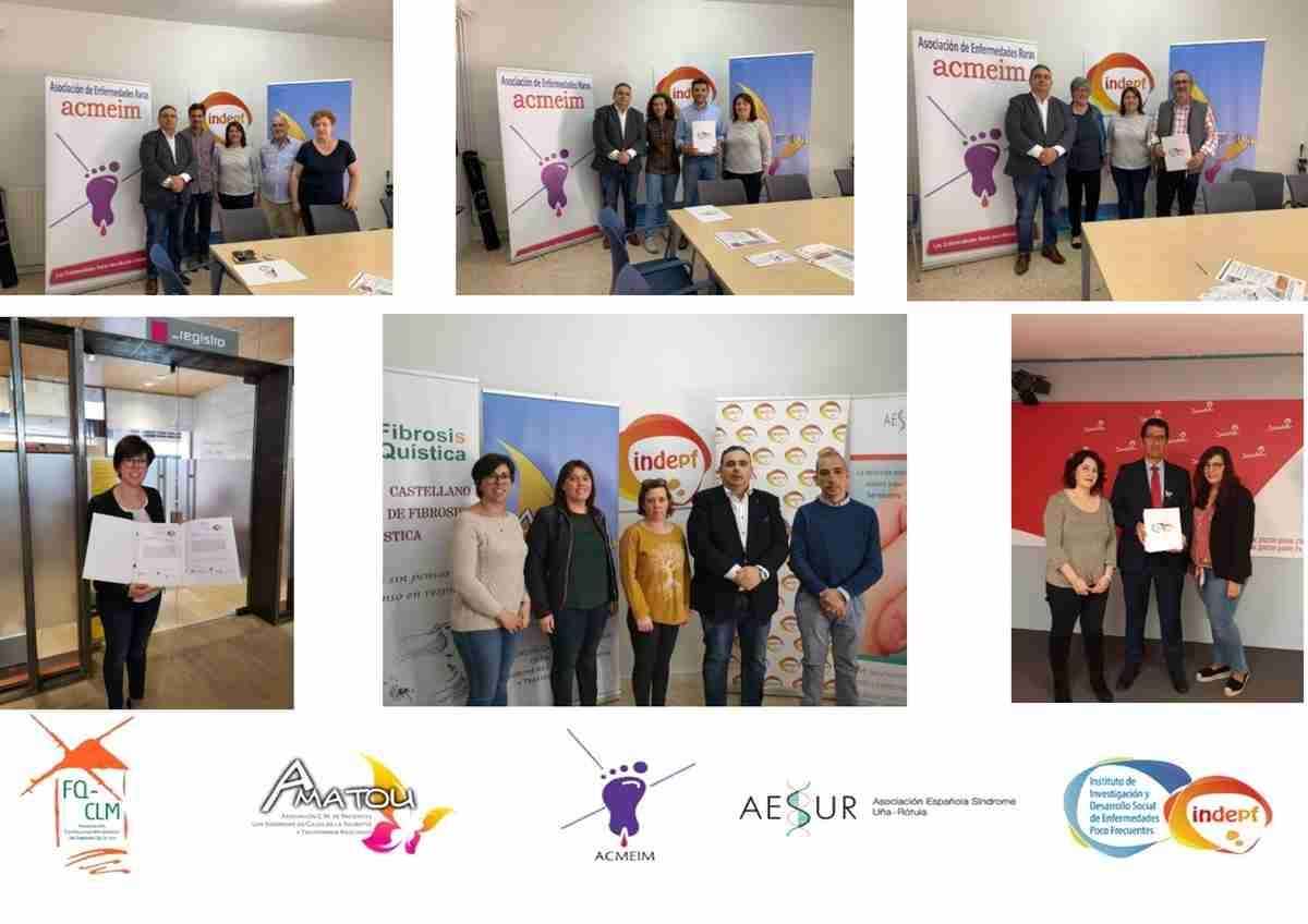 Presentación de la Alianza Castellano Manchega de Asociaciones de Enfermedades Poco Frecuentes del Decálogo de necesidades de los pacientes y sus familias 1
