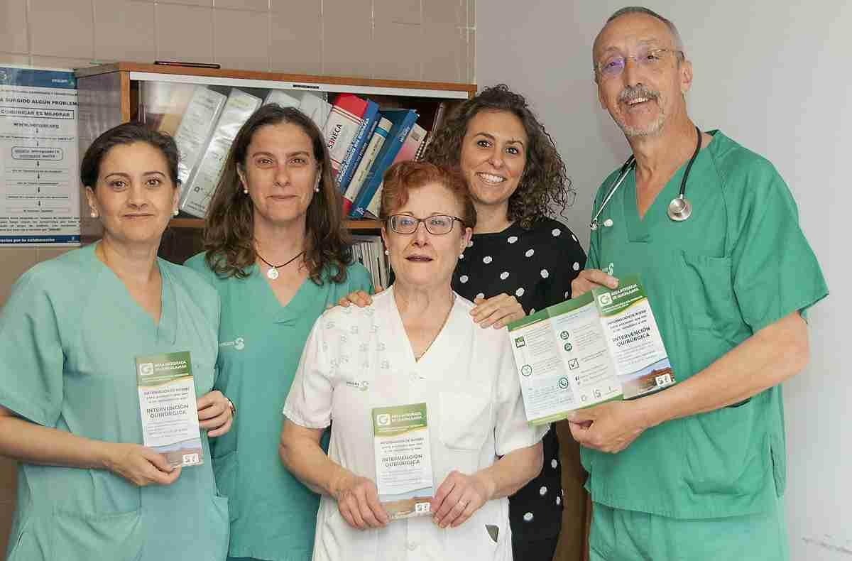 El servicio de Anestesiología del Hospital de Guadalajara aborda un proyecto para mejorar la comunicación con el paciente y el resultado de su cirugía 1