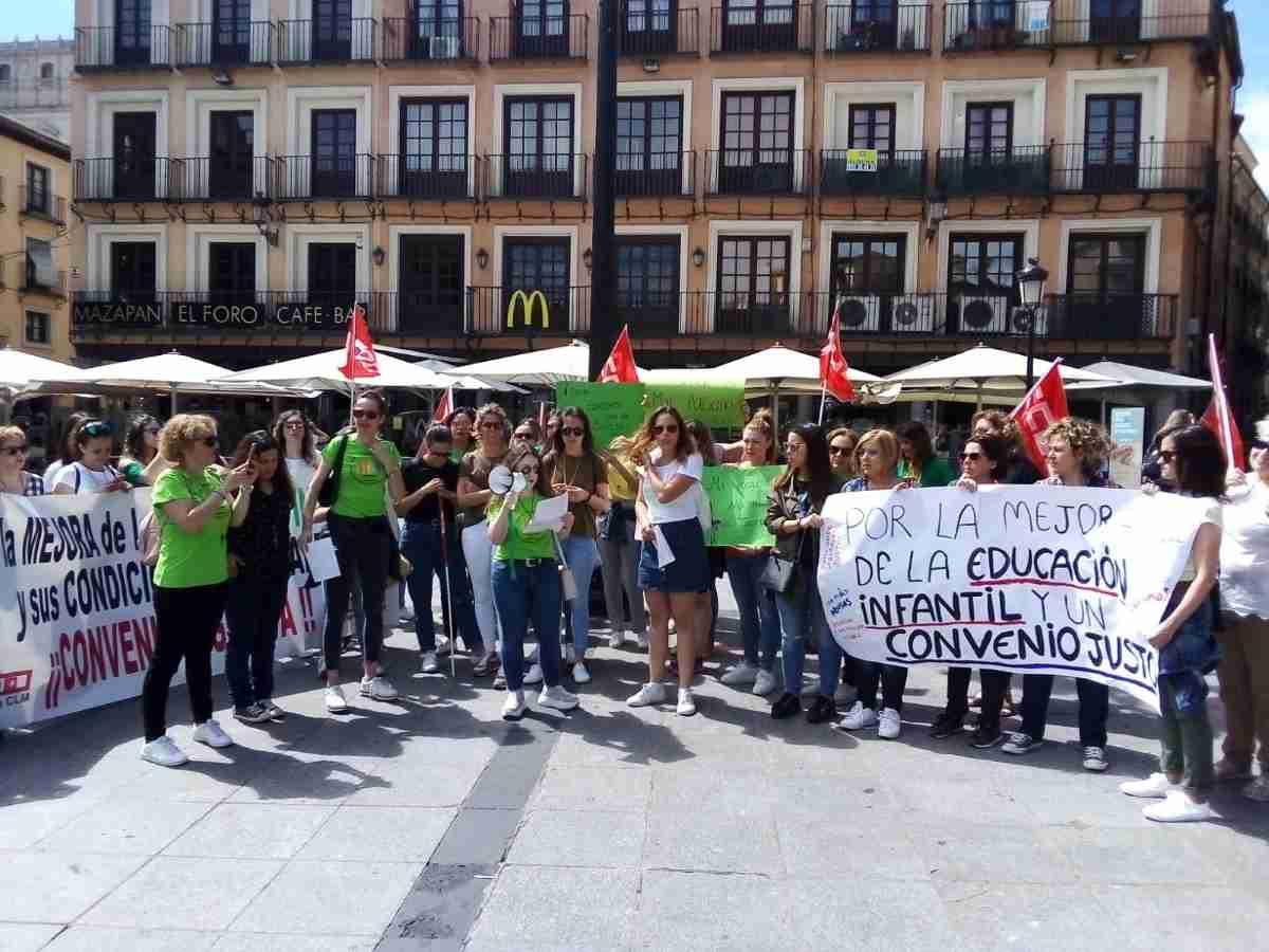 Huelga convocada hoy por CCOO en toda España en el primer ciclo de las Escuelas Infantiles privadas 1