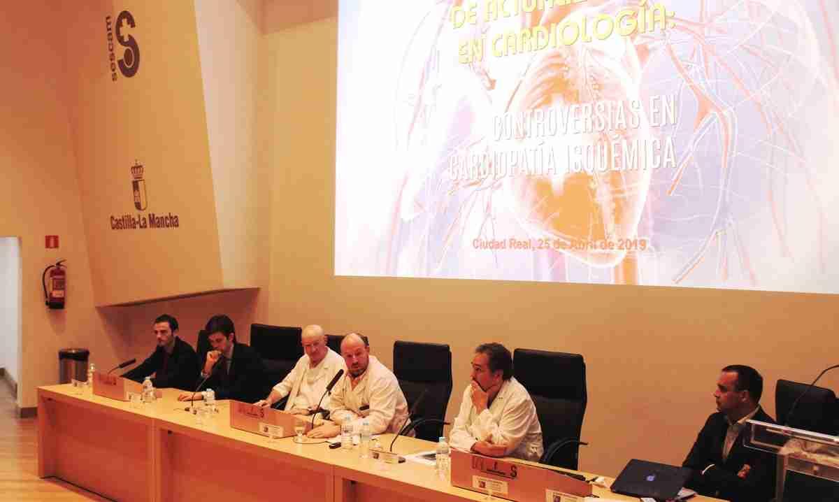 Cardiólogos de toda España debatieron en el Hospital de Ciudad Real sobre el abordaje de la cardiopatía isquémica 1