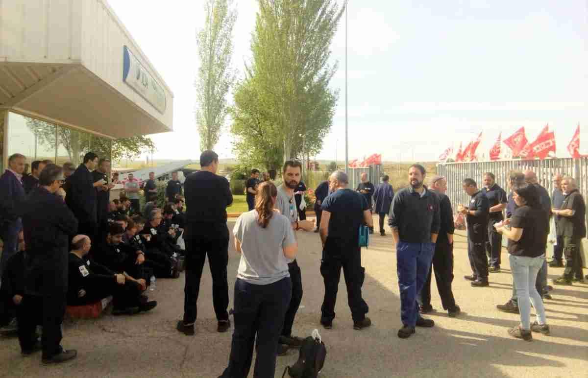 La plantilla de ICSA afronta cuatro jornadas de huelgas para exigir al grupo Aernnova carga de trabajo que garantice el empleo en la fábrica toledana 1