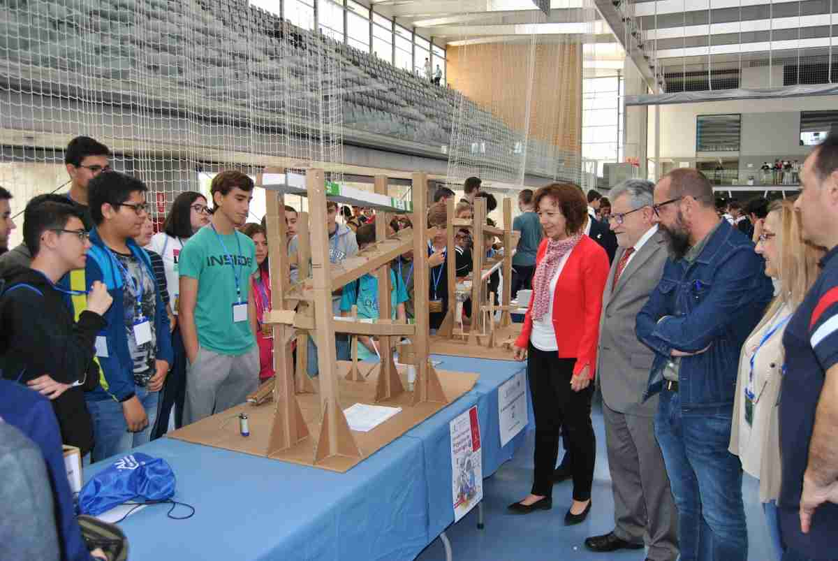 Más de 1.500 escolares se dan cita en las III Jornadas Regionales de Proyectos Tecnológicos y STEAM, un ejemplo del modelo de formación 2