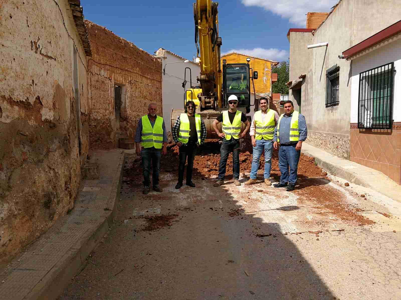 Comienzan las obras de las reparaciones urgentes en el Arroyo de la Retuerta y protección del río Cañamares de Carrizosa 2