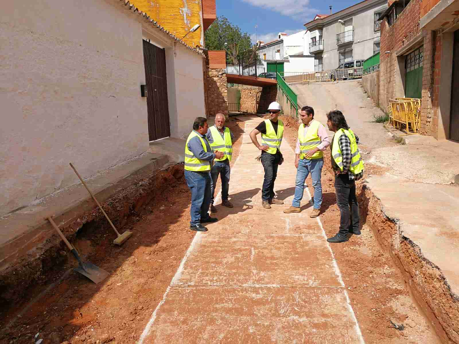 Comienzan las obras de las reparaciones urgentes en el Arroyo de la Retuerta y protección del río Cañamares de Carrizosa 1