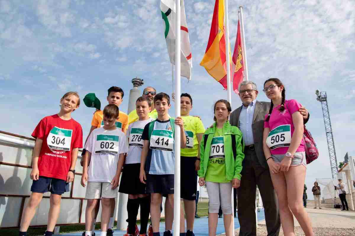 XXIII Olimpiada Escolar de La Mancha, celebrada en Santa Cruz de la Zarza (Toledo 1