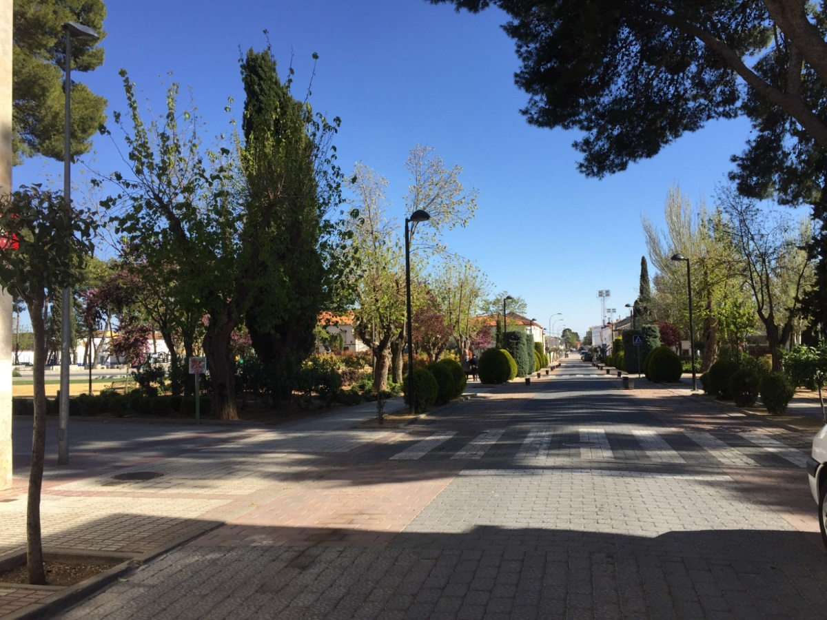 Santiago Lázaro llevará a cabo actuaciones para mejorar el Parque Luis Cobos 1
