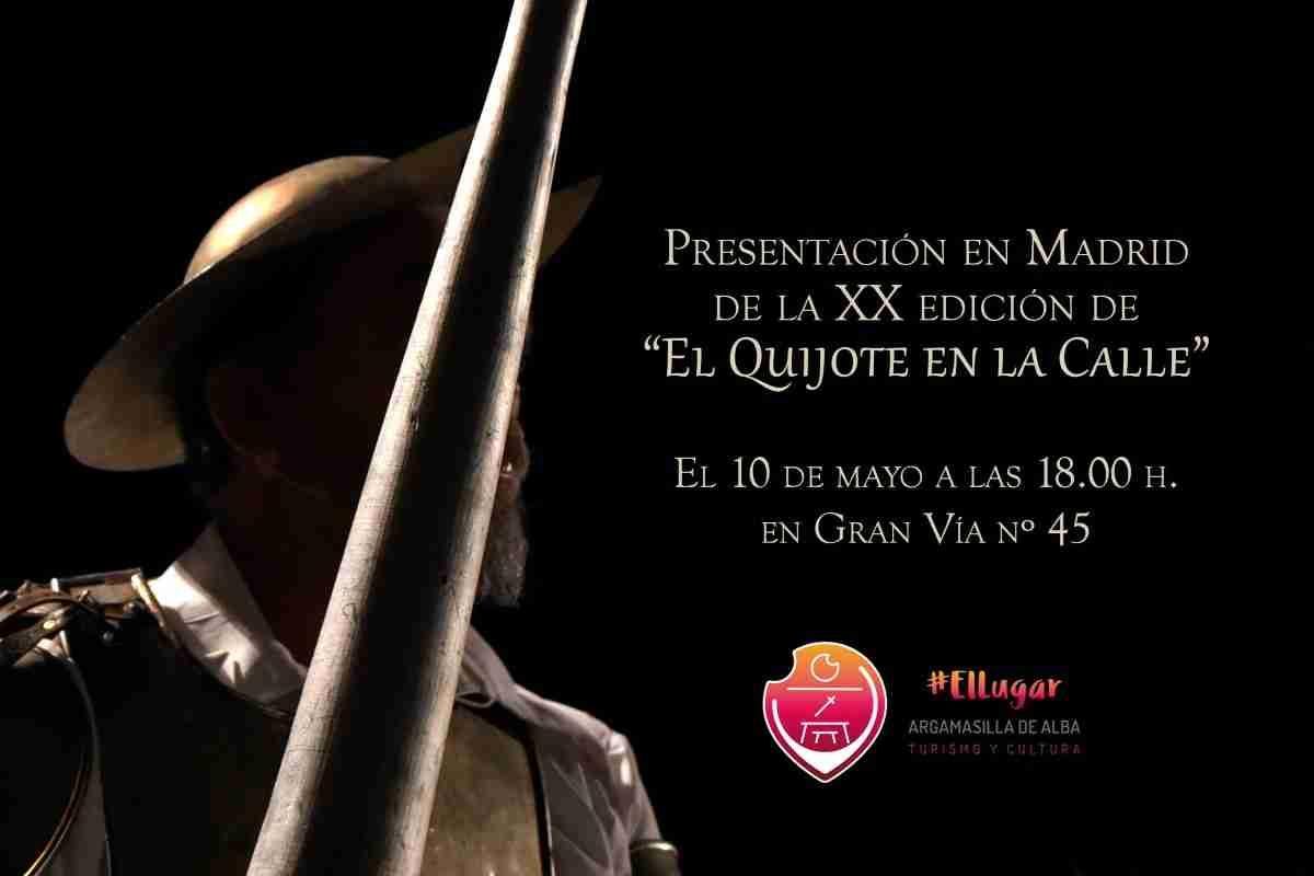 Argamasilla de Alba presentará en Madrid la veinte edición de El Quijote en la Calle' 1