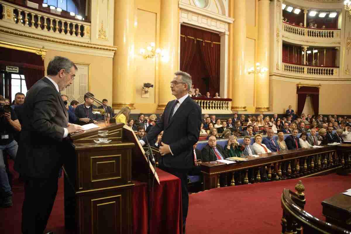 Jesús Martín Rodríguez, Carmen Mínguez y José Manuel Bolaños adquieren su condición plena de senadores 1