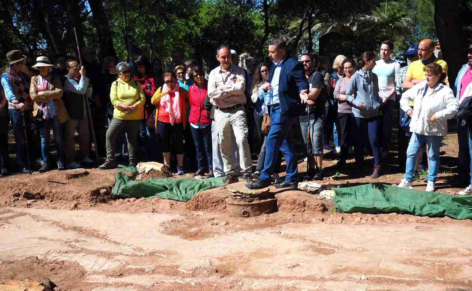 Gran éxito de la jornada arqueológica de Terrinches 11