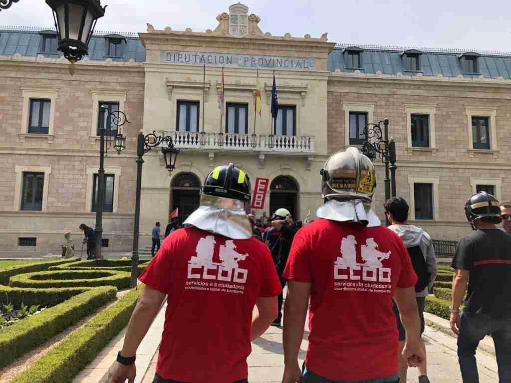 El comité de empresa de los bomberos de la Diputación de Cuenca denuncia el último decreto del funcionario en funciones por dejar todo patas para arriba 1