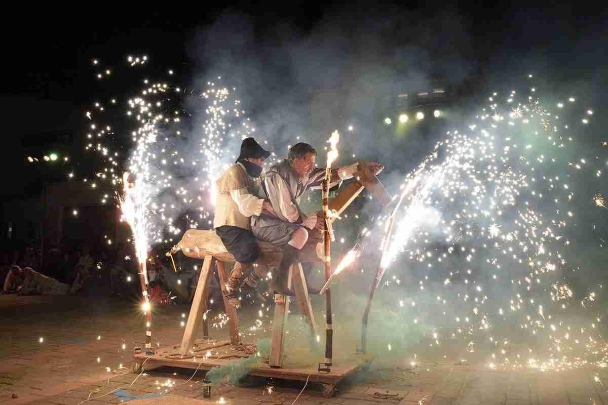 """Gran representación de 'El Quijote en la Calle"""" en Argamasilla de Alba 2"""
