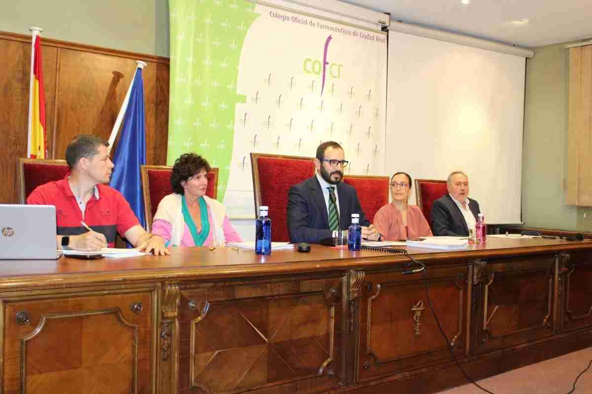 Asamblea General ordinaria del Colegio de Farmacéuticos de Ciudad Real 1