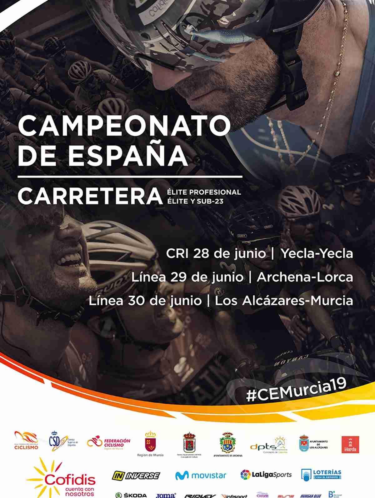 La selección de Castilla-La Mancha sub23 disputará el Campeonato de España de Carretera 2019 1