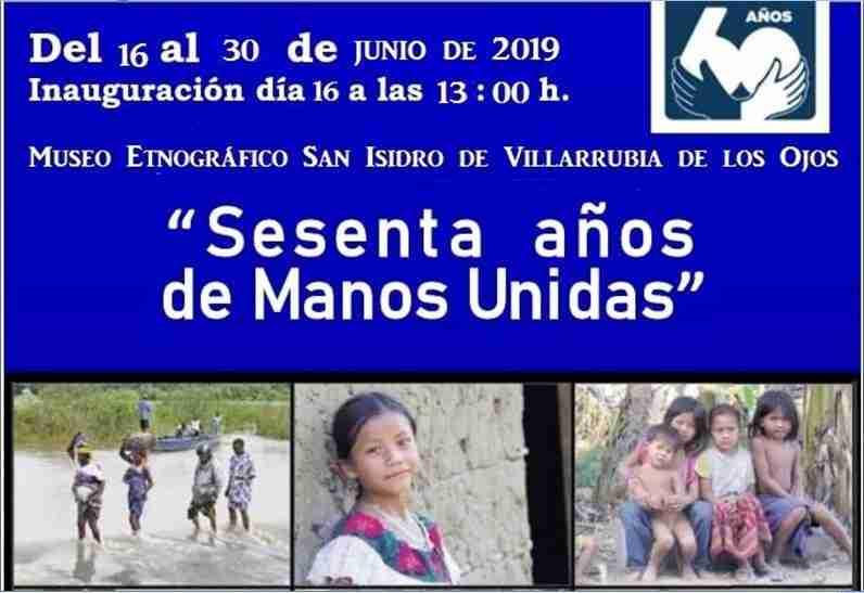 """""""Sesenta años de Manos Unidas"""", la exposición desembarca en el Museo Etnográfico de Villarrubia de los Ojos 2"""