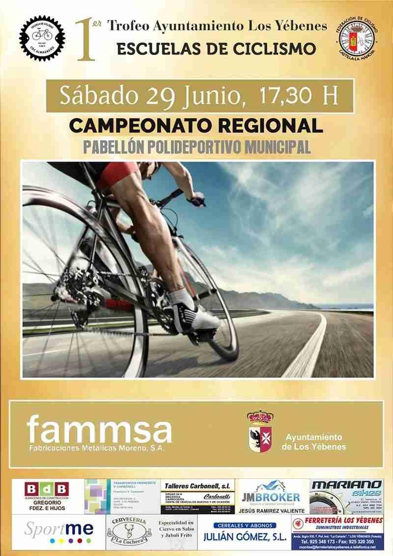 Los Yébenes estrena competición de Ciclismo de Escuelas acogiendo el Campeonato de Castilla-La Mancha 1