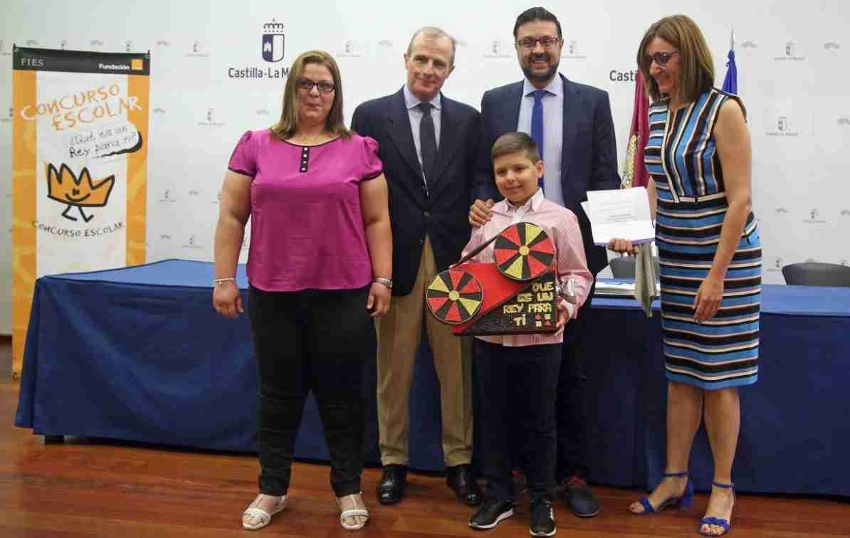 Un alumno del CP 'Miguel de Cervantes' de Terrinches (Ciudad Real) representará a Castilla-La Mancha en la audiencia del concurso '¿Qué es un Rey para ti?' 1
