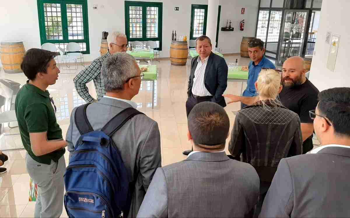 Delegación de Uzbekistán conoce el método LEADER y el Parque Cultural de Calatrava 2