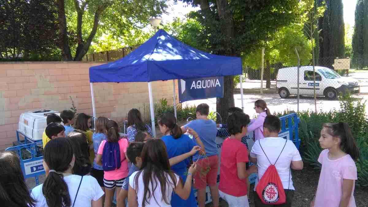 Para celebrar el Día Mundial del Medio Ambiente, Aquona promociona el agua del grifo 1