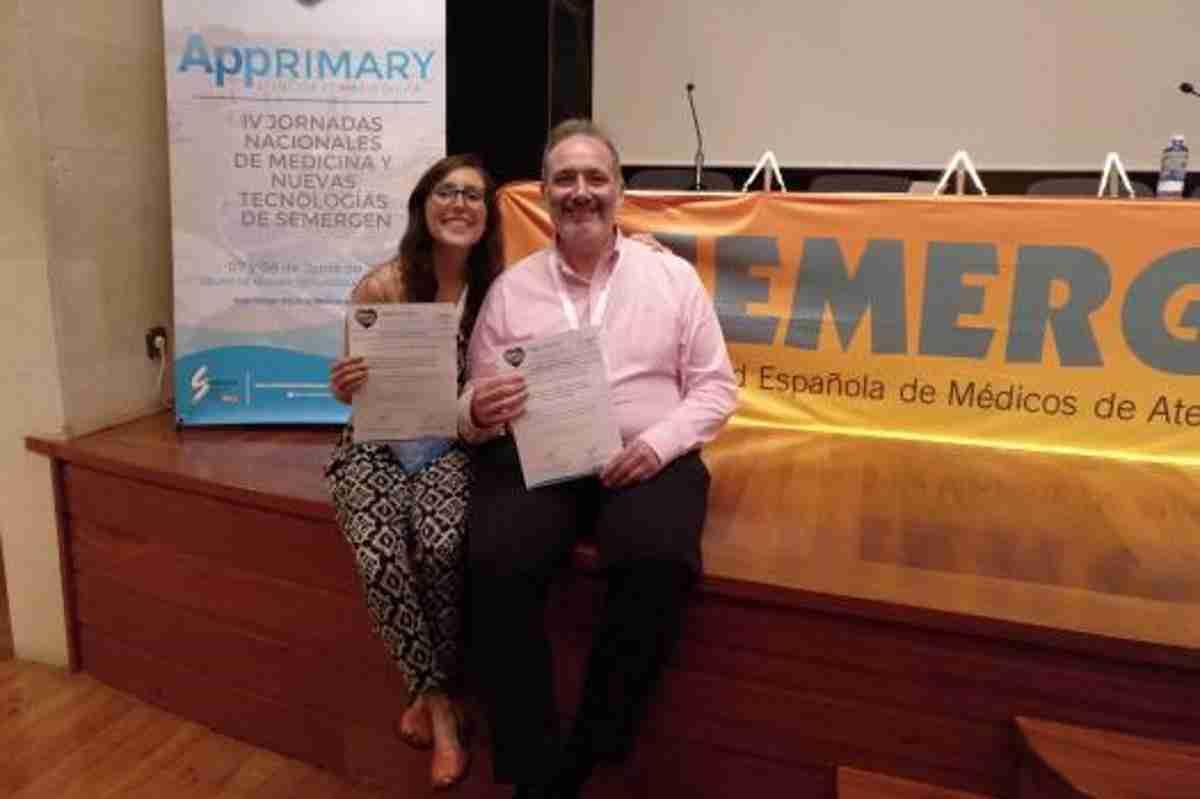 La Sociedad Española de Médicos de Atención Primaria premia a profesionales del Centro de Salud de Azuqueca de Henares 1