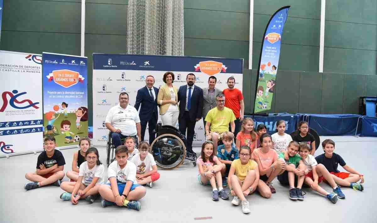 Se ha presentado el Proyecto  'Diversidad funcional en los centros educativos de Castilla-La Mancha' 1