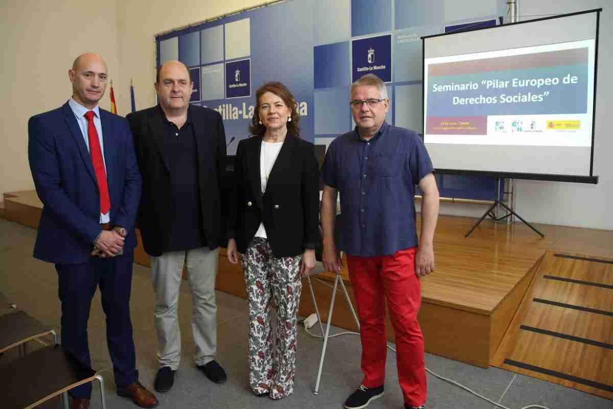 Gobierno de Castilla-La Mancha está comprometido con el Pilar Europeo de Derechos Sociales 1