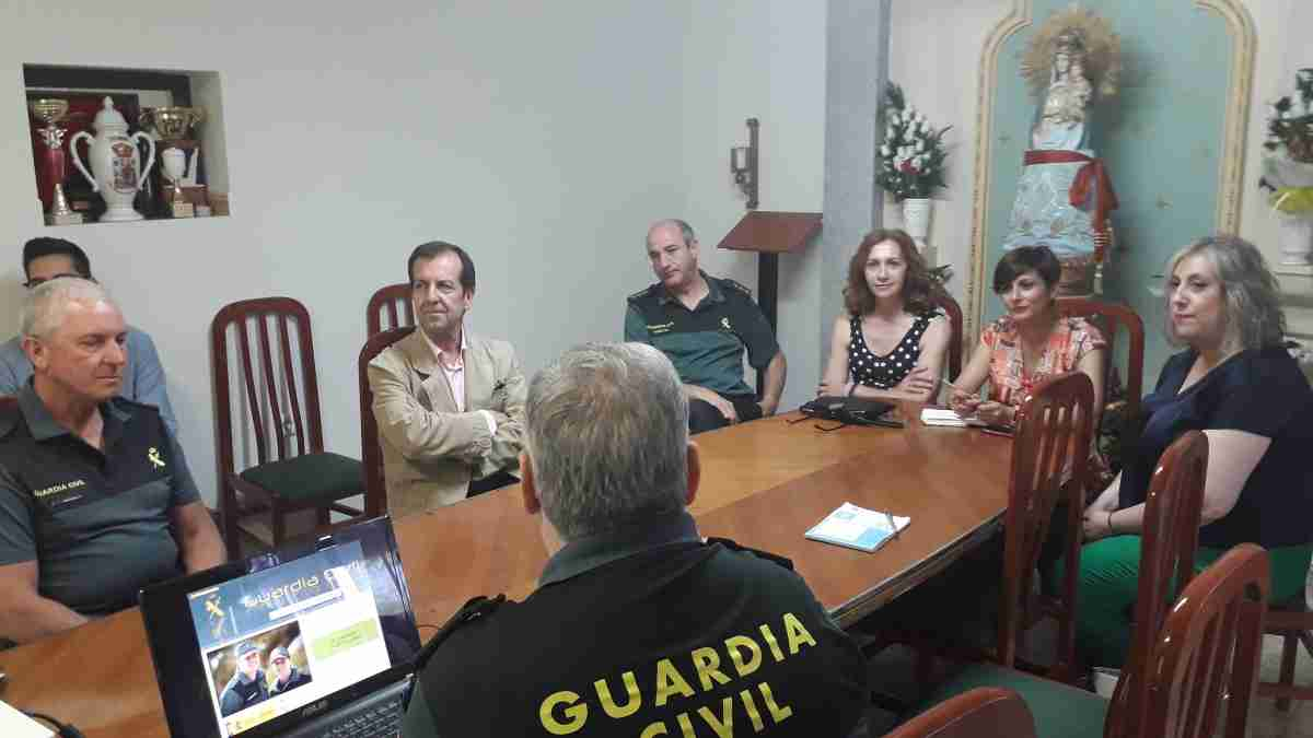 La subdelegada y la alcaldesa de Puertollano visitan la 2ª Compañía de la Guardia Civil 1