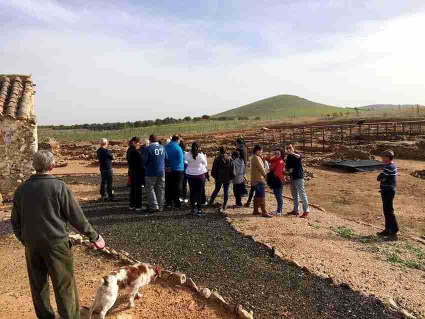 Los yacimientos de Oreto y Zuqueca de Granátula de Calatrava reciben cada vez más visitas 1