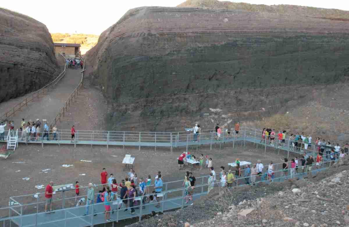 30.000 personas han visitado el volcán-museo Cerro Gordo de Granátula de Calatrava 2